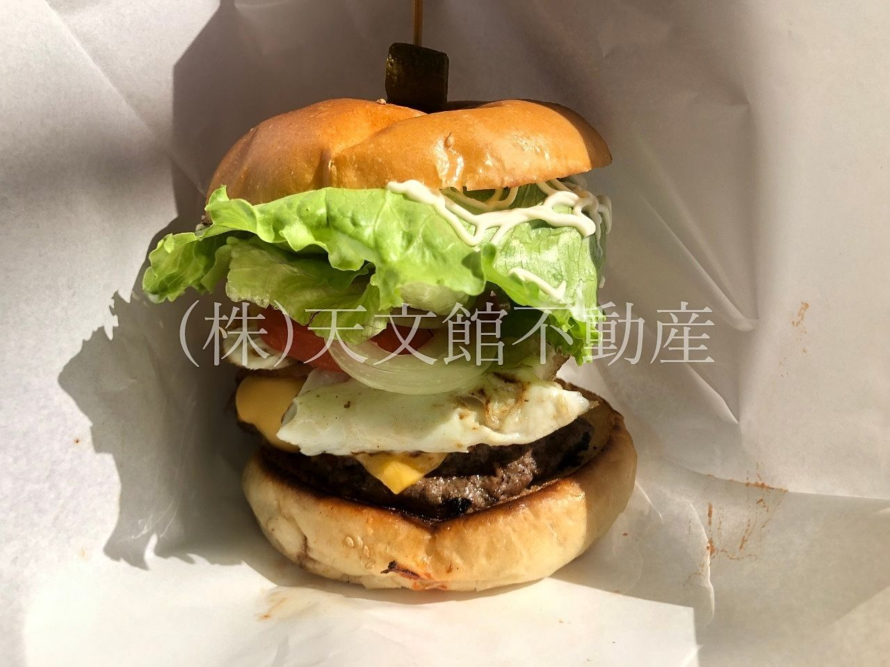 KAZBO Burger(カズボバーガー)ボリューム満点 バーガー