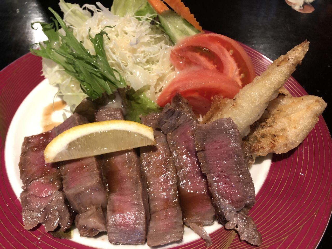 鹿児島市鴨池新町の花の木 ステーキ専門店 サーロインステーキ