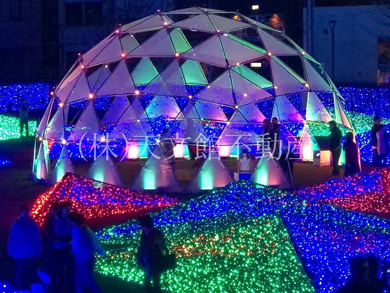 鹿児島市千日町天文館公園ミリオネーションドーム