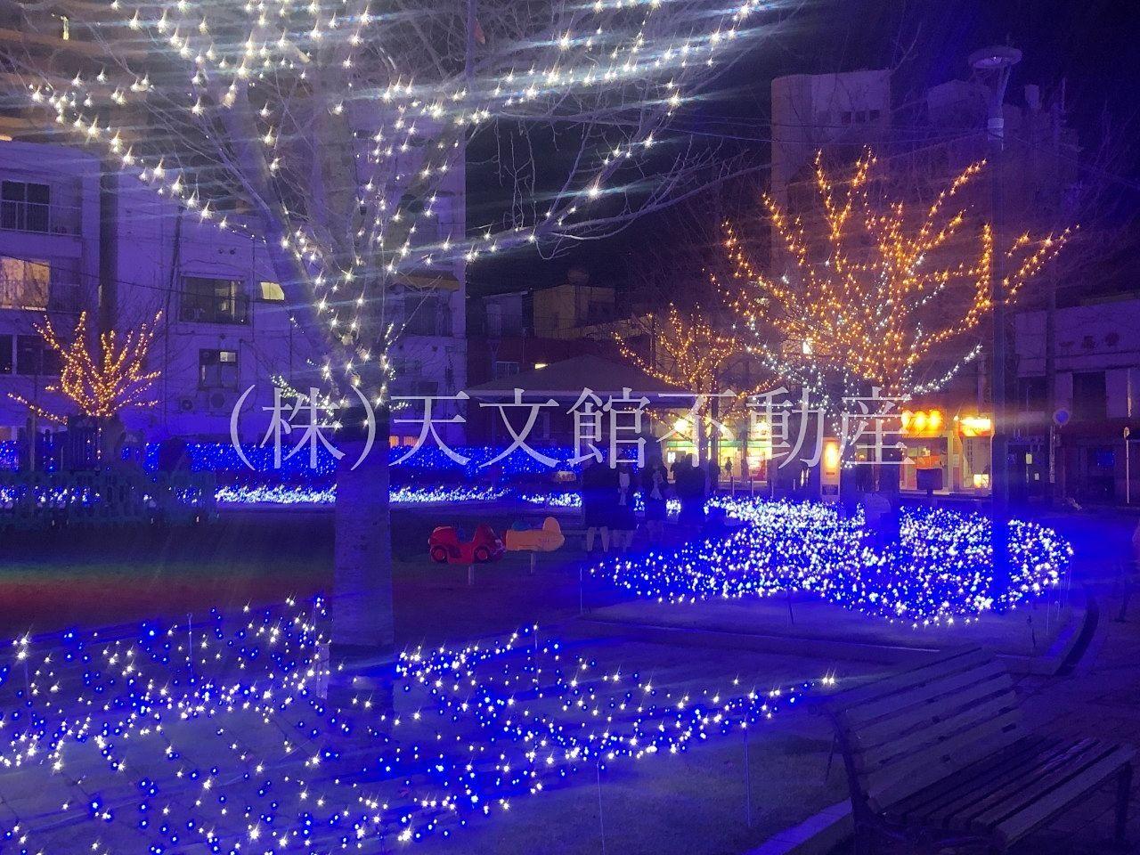 鹿児島市千日町天文館公園ミリオネーション綺麗な風景