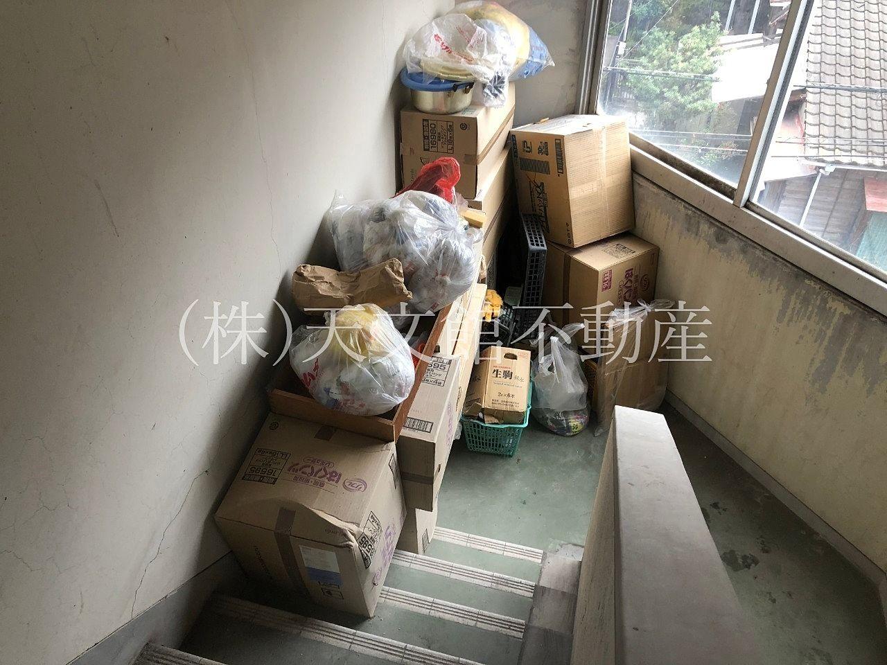 来月から管理予定の建物の共用階段