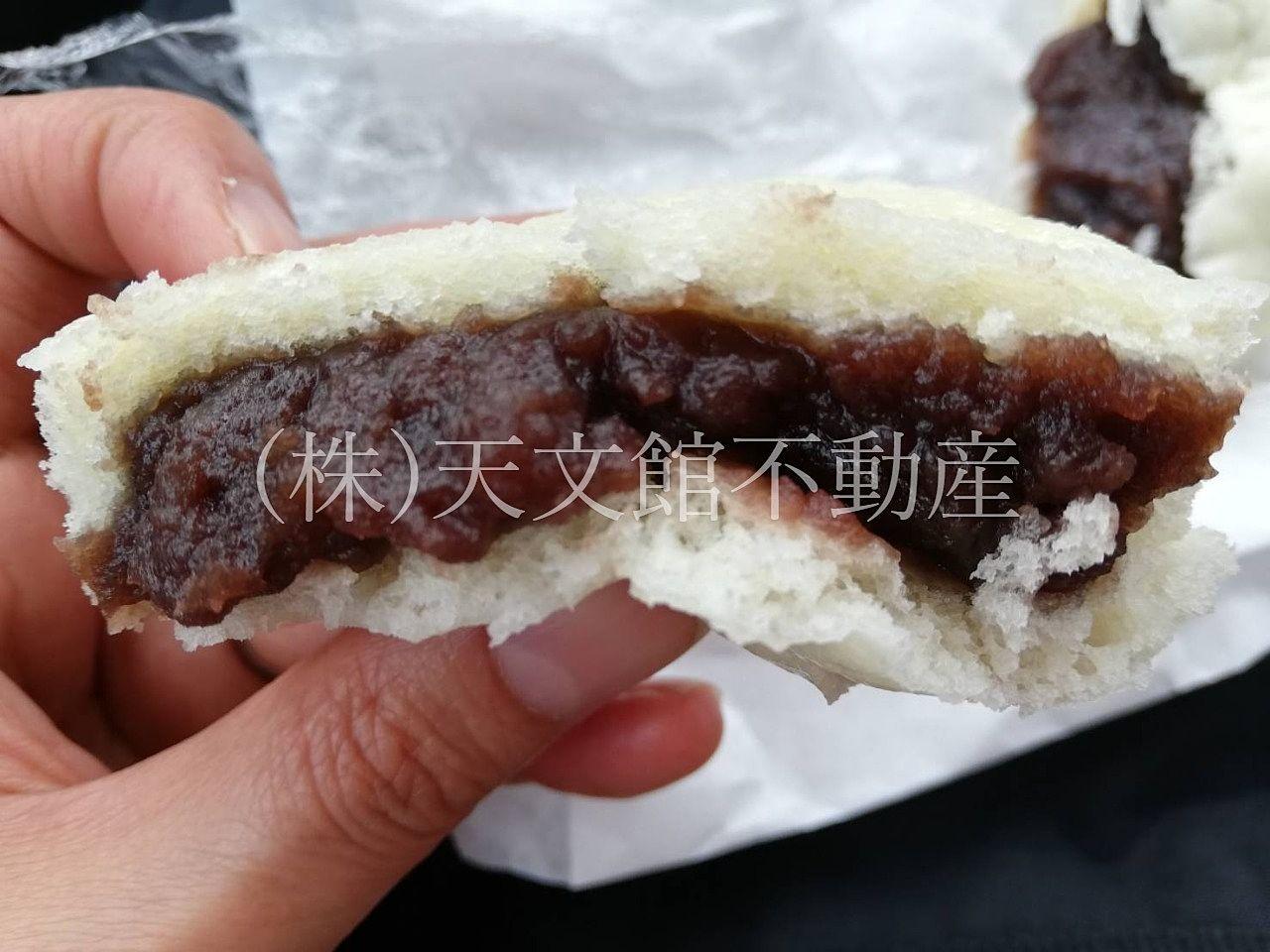 姶良市加治木町「新道屋」加治木饅頭の有名店です。餡子がぎっしりで美味しいかじき饅頭です。