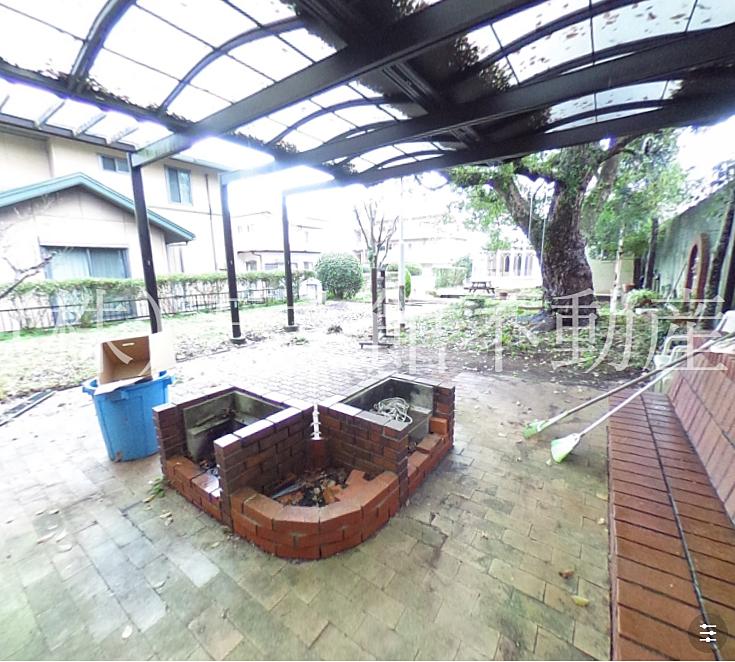 鹿児島市平川町売家夏はお庭でバーベキューも出来ます。