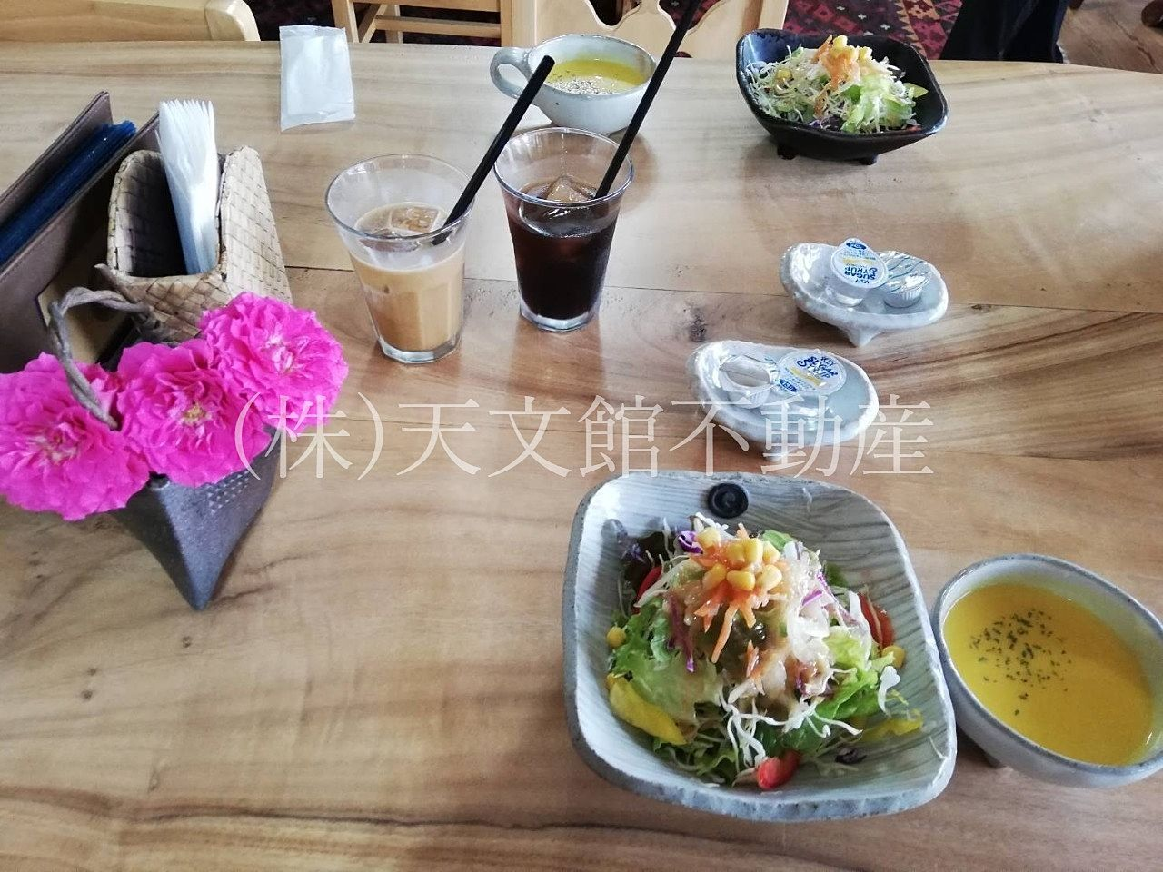 霧島市隼人町小浜「KITCHEN Q」キッチンキューの前菜です。