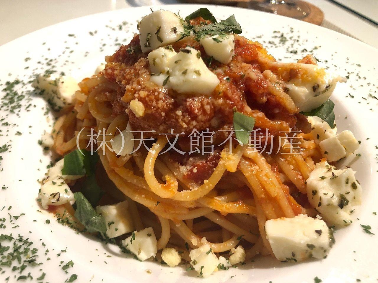 鹿児島市城山町「DINIZ CAFE (ジニスカフェ)」はスパゲティはとても美味しいです。