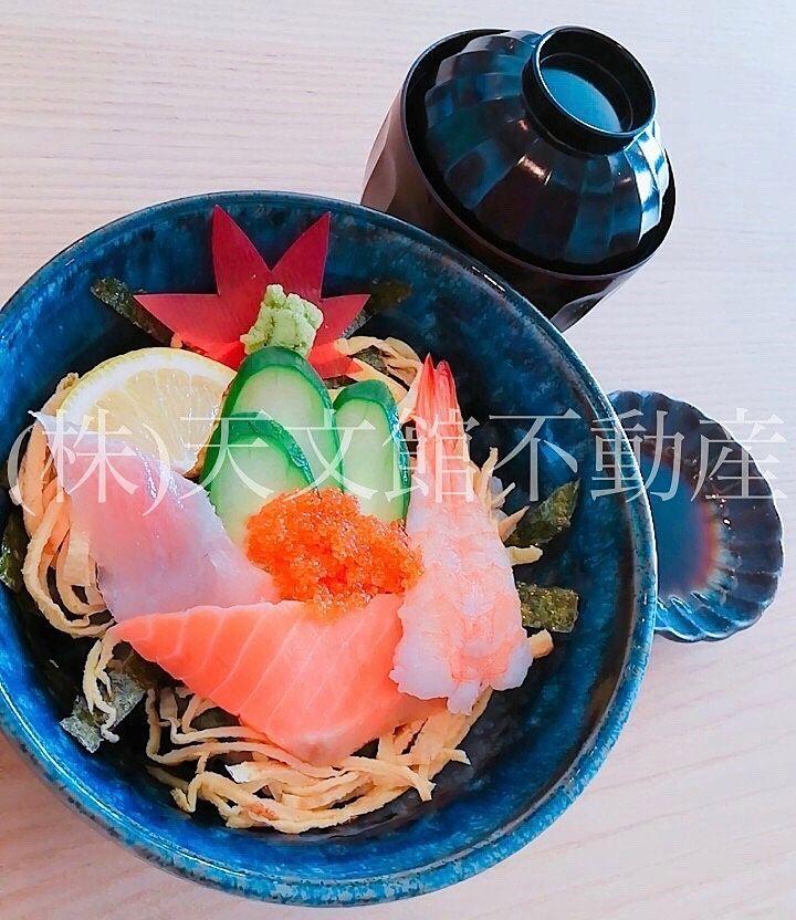 綺麗に飾られた海鮮丼でおいしかったです。
