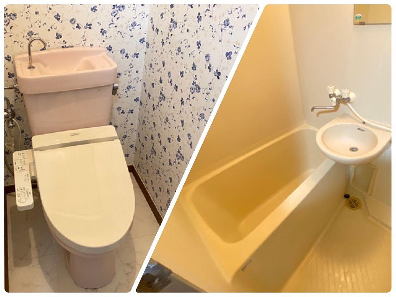 障害者グループホーム桜上荒田1号館は風呂トイレ別のセパレートの物件になります。