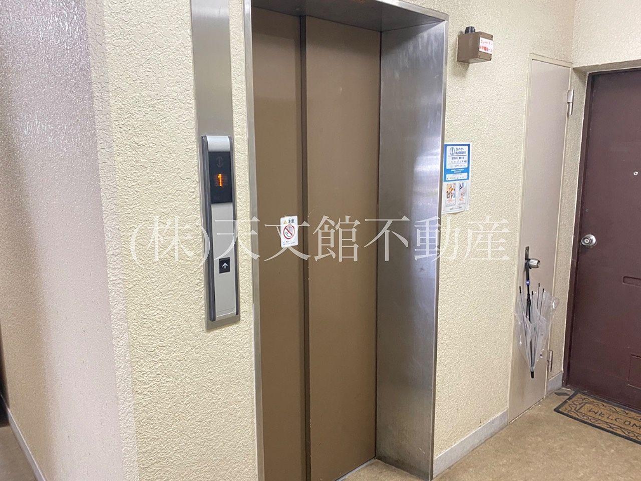 鹿児島市山之口町の中古マンションの皐月マンションはエレベータも付いており上層階でも安心して住めるマンションです。