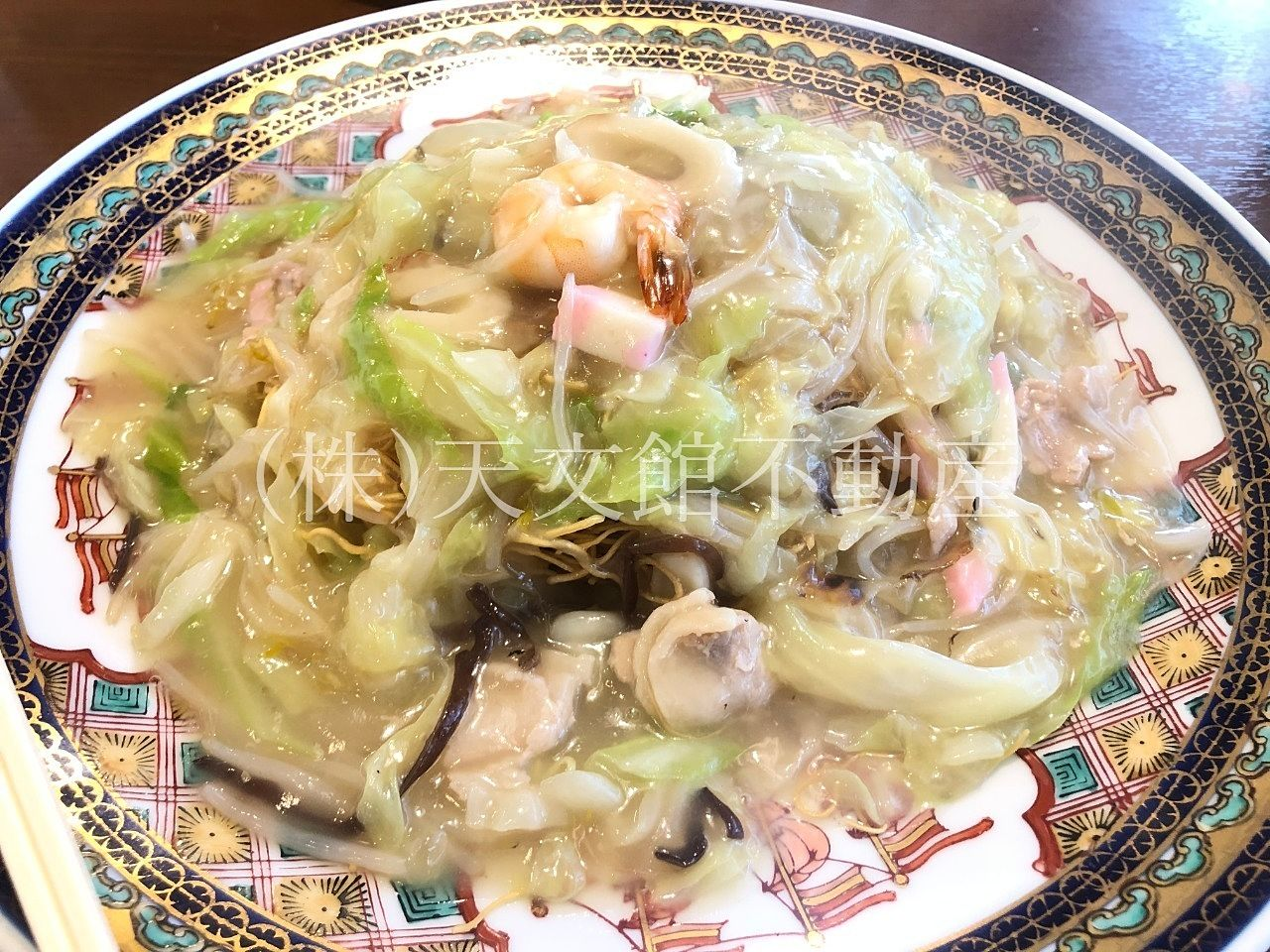 鹿児島市城山町「長崎庵」美味しい長崎ちゃんぽん、皿うどんが頂けます