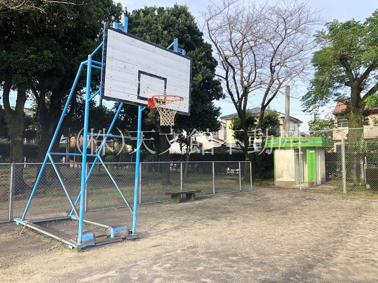 鹿児島市西伊敷 伊敷団地中央公園 バスケットコート