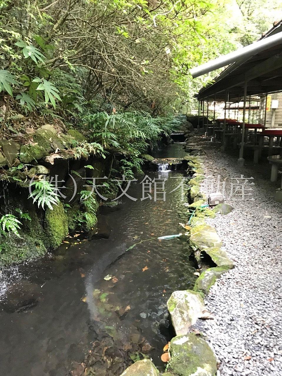 鹿児島市 慈眼寺そうめん流し 池
