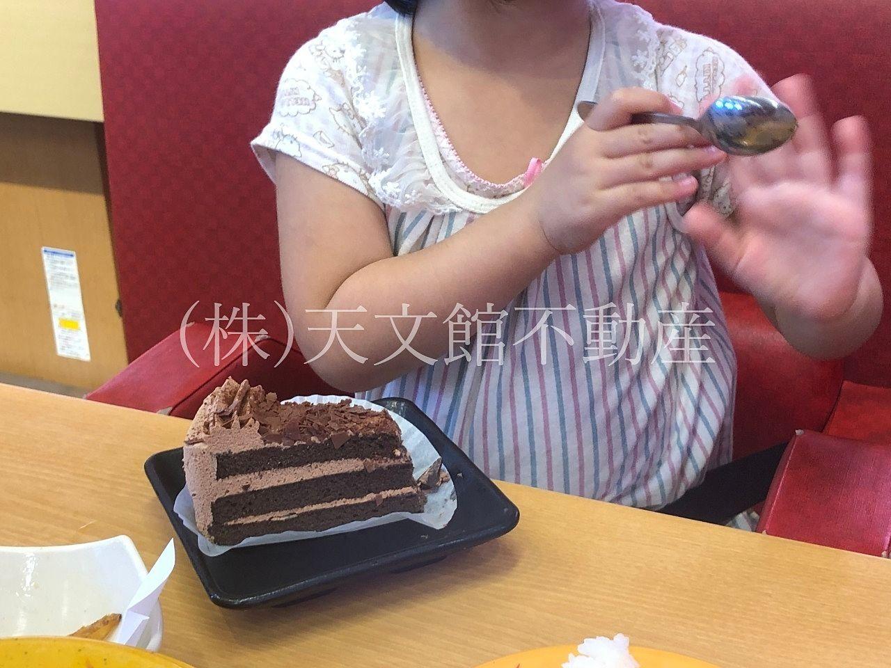 スシロー吉野店 デザート ケーキ アイス ジュース