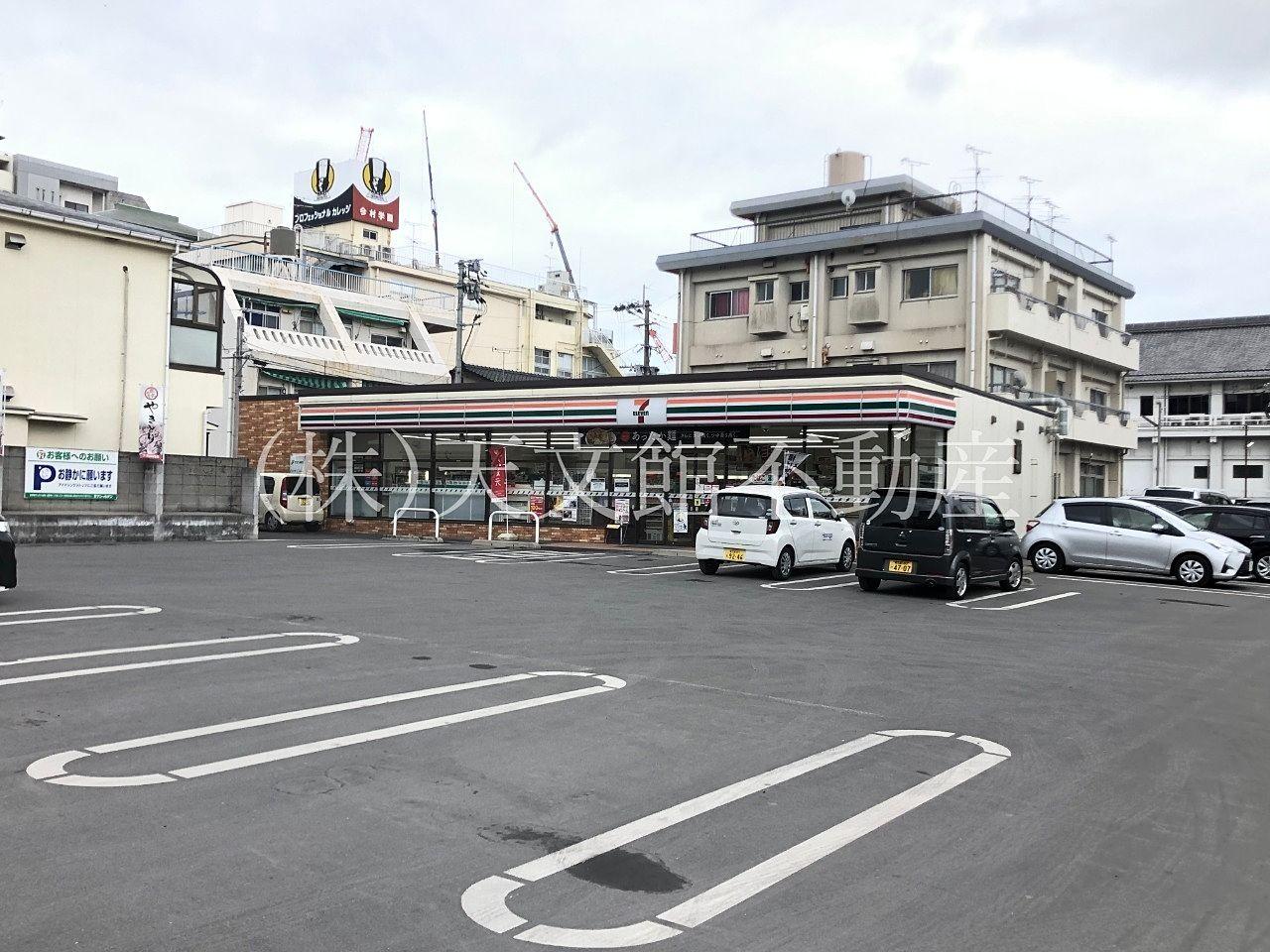 鹿児島市高麗町セブンイレブン 鹿児島高麗町店駐車場も広くて止めやすいです