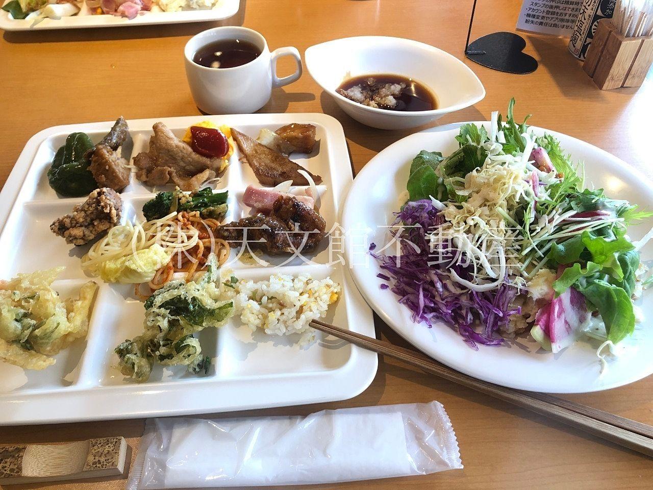 鹿児島市西谷山1丁目のおすすめバイキング農家レストランたわわは野菜の種類が多いお店です。