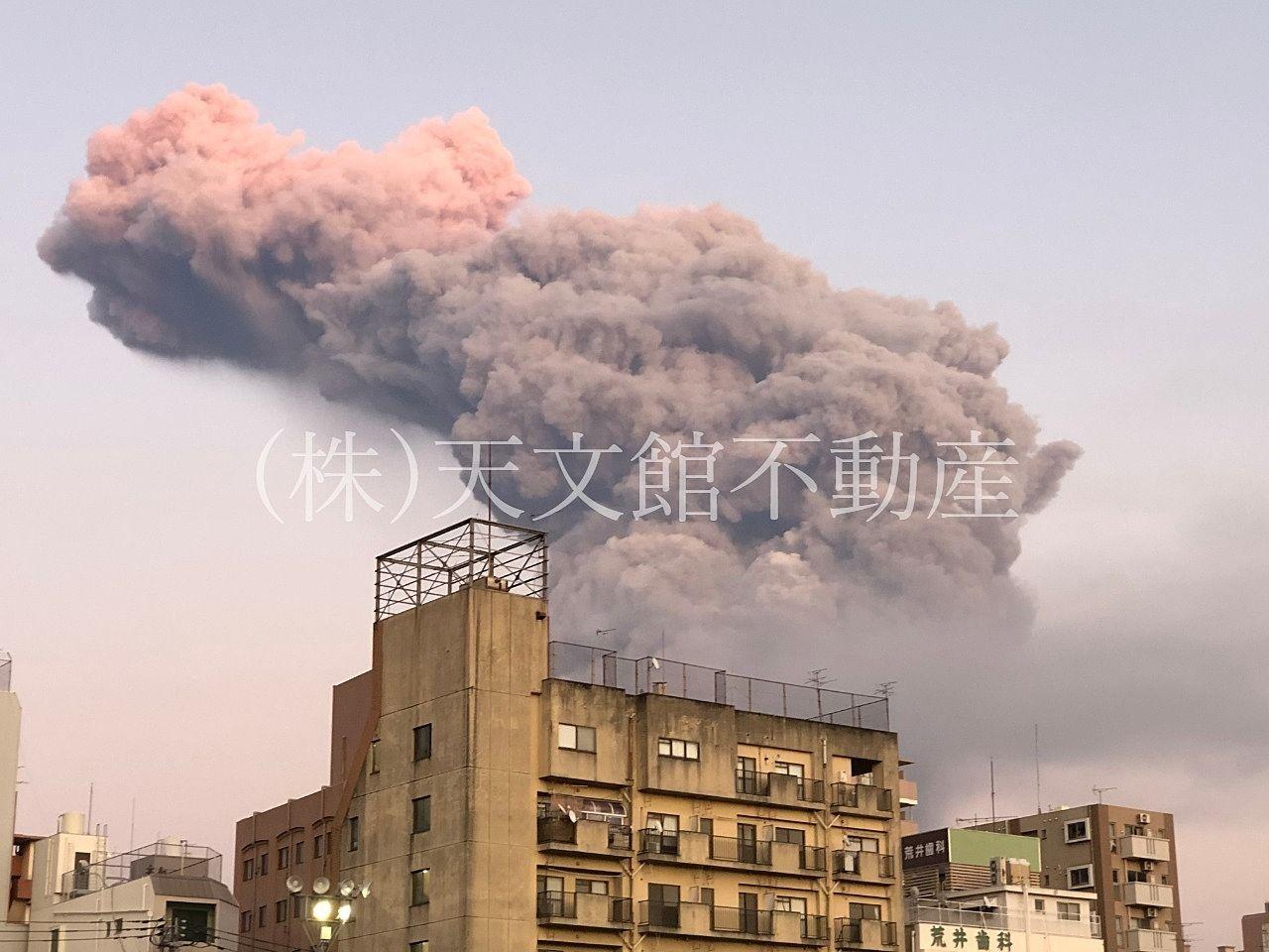 桜島マラソン 噴火