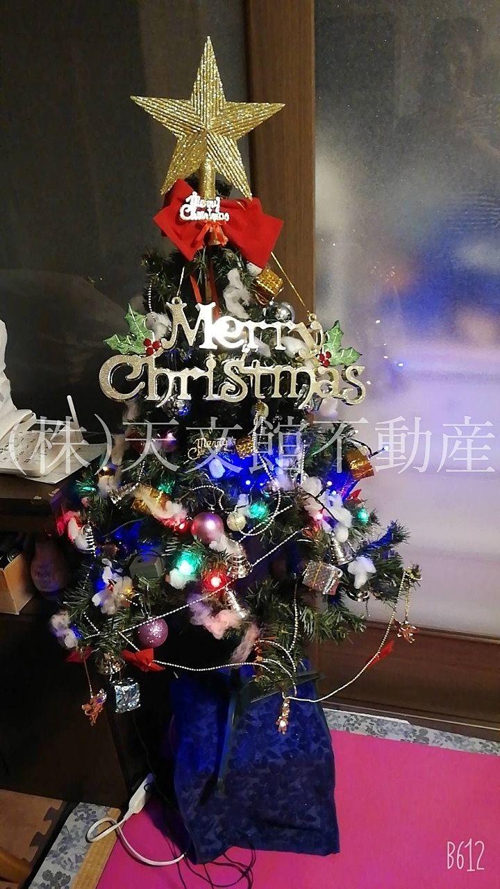 クリスマスツリー 早いけど