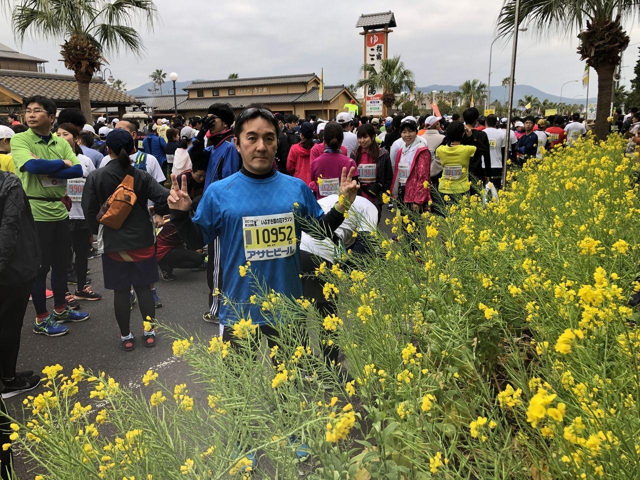 毎年、フルマラソンに挑戦中しています。
